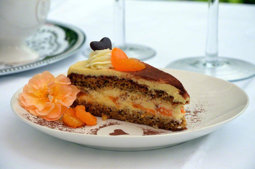 Haselnuss-Orangen-Torte